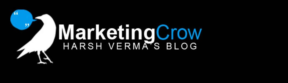 MarketingCrow: Welcome to Harsh Verma's (FMS) Blog